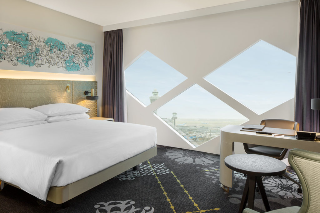 Hilton Amsterdam Airport Schiphol Hotel deluxe room