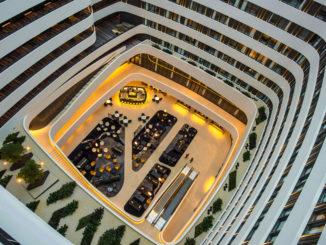 Hilton Amsterdam Airport Schiphol Hotel lobby
