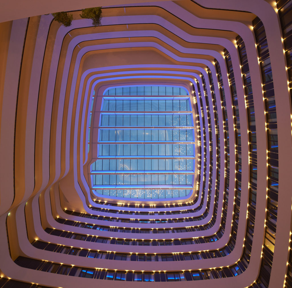 Hilton Amsterdam Airport Schiphol Hotel roof