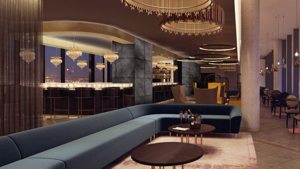 Hilton Bournemouth Hotel LEVEL8IGHT bar