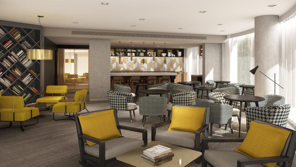 Hilton Bournemouth Hotel executive lounge