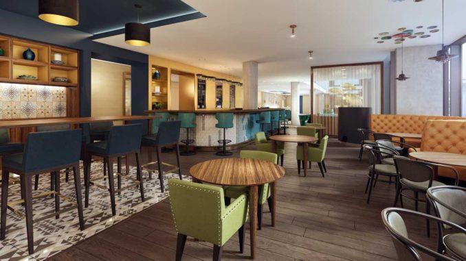 Hilton Bournemouth Hotel lobby