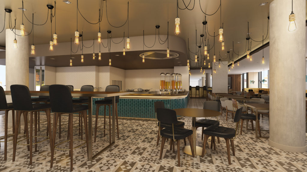 Hilton Bournemouth Hotel restaurant