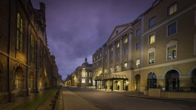 Hilton Cambridge City Centre exterior