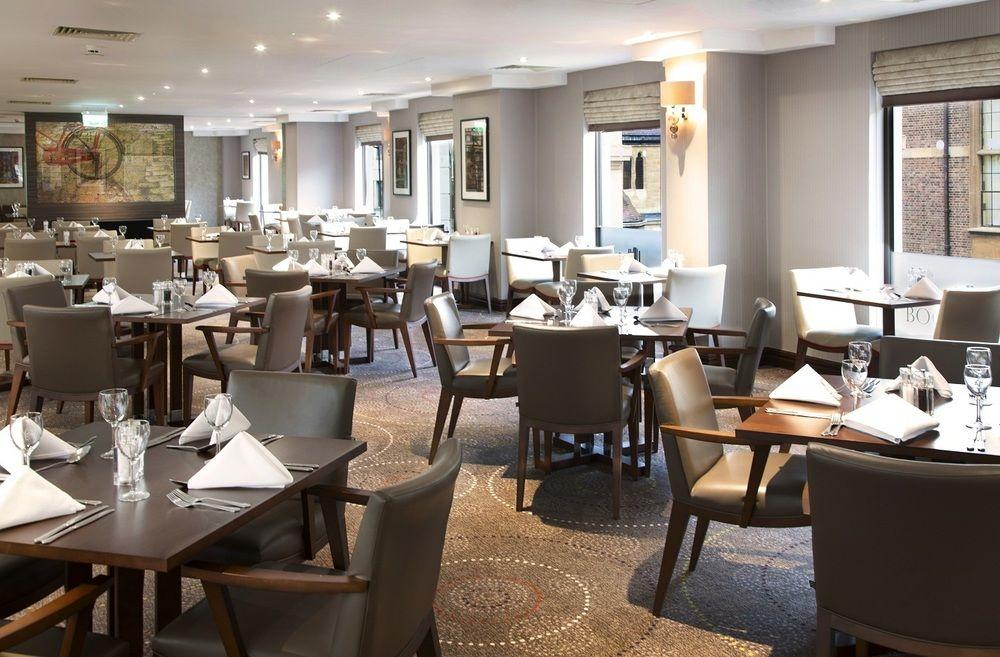 Hilton Cambridge City Centre restaurant