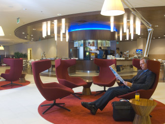 KLM Crown Lounge, Amsterdam Schiphol airport