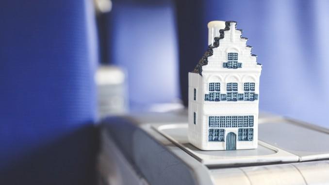 KLM Delftware house nr 96 Hamel House