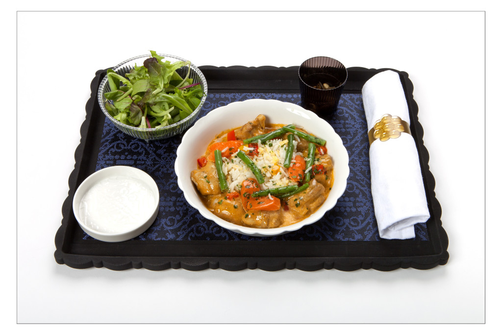 KLM new World Business Class chef Jacob Jan Boerma - main course chicken