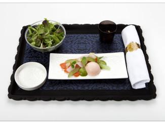 KLM new World Business Class chef Jacob Jan Boerma - starter