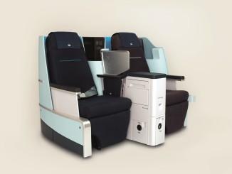 KLM new longhaul business class cabin