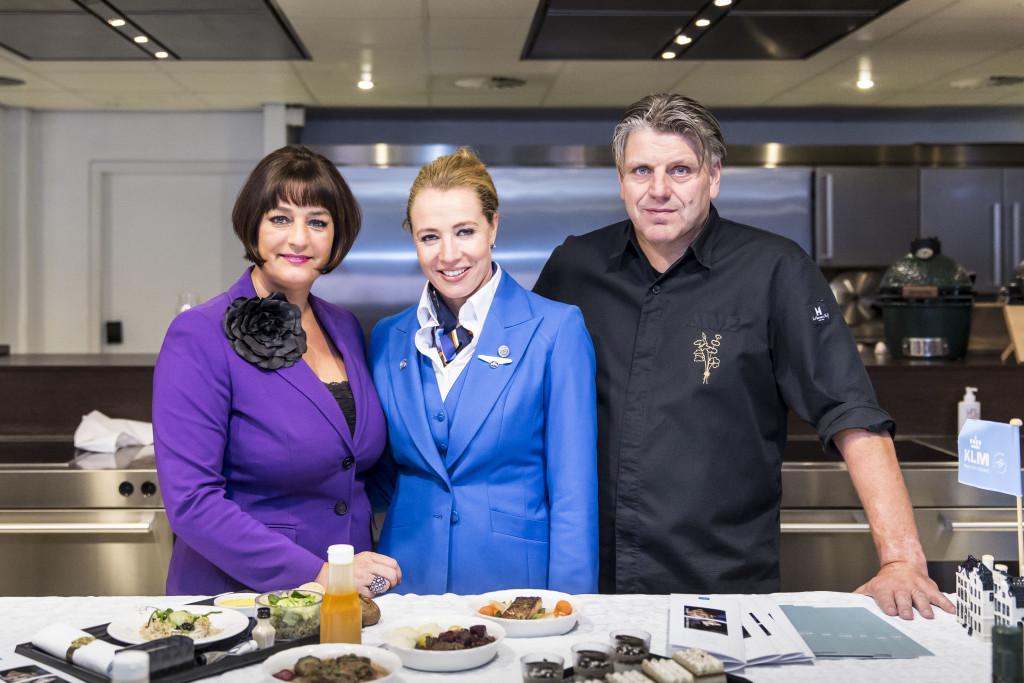 KLM renews cooperation with Dutch chef Jonnie Boer