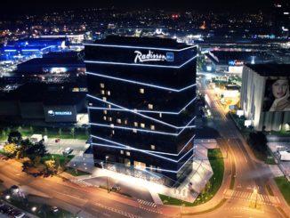 Radisson Blu Plaza Hotel Ljubljana hotel building