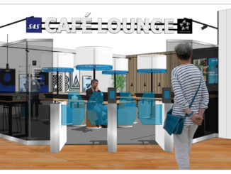SAS Cafe Lounge Luleå Kallax Airport