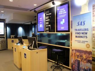 SAS Lounge Stockholm Arlanda terminal 5 entrance