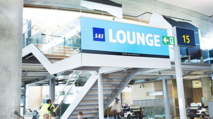 SAS new domestic lounge at Oslo Gardermoen airport