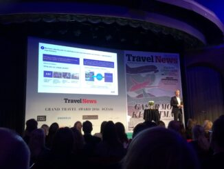 SAS news and innovations from Eivind Roald at the Grand Travel Award