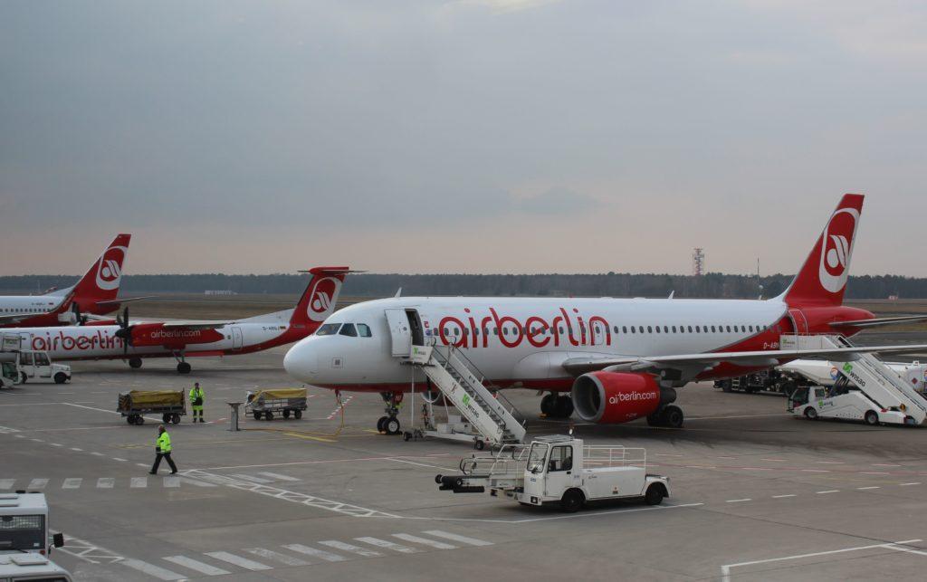 Air Berlin Berlin Tegel-Stockholm
