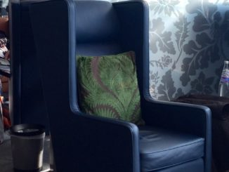 British Airways Galleries Club South London Heathrow new furniture