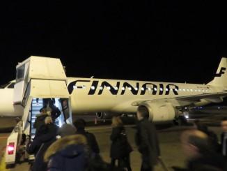 Finnair Economy Class Helsinki-Stockholm