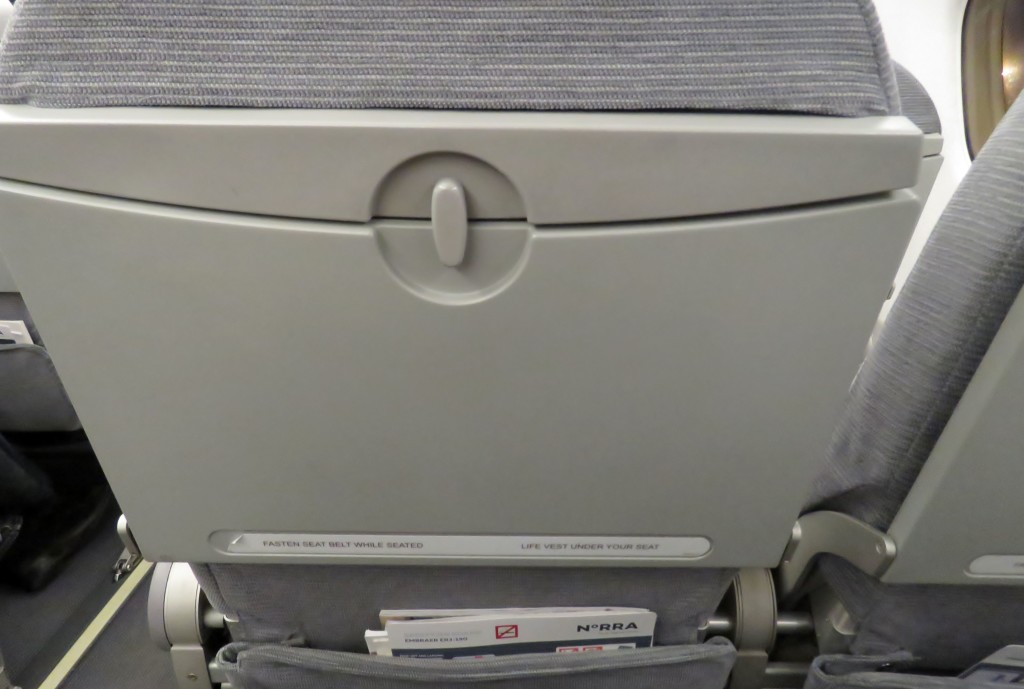 Finnair Economy Class Helsinki-Stockholm seat