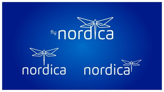 Nordica logo versions