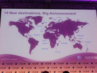 Qatar Airways launches 14 new destinations
