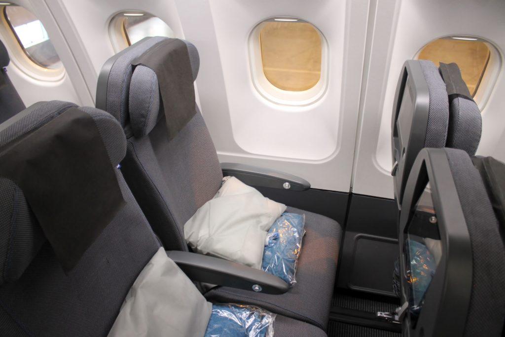 SAS Go economy class seat Airbus A330