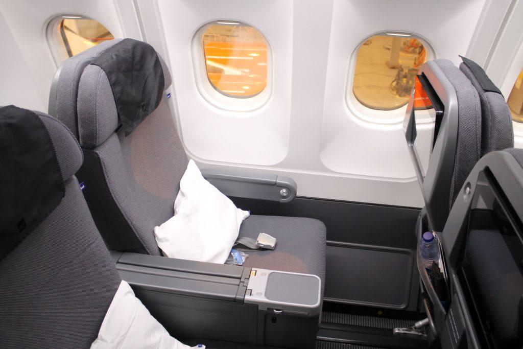 SAS Plus premium economy seat Airbus A330