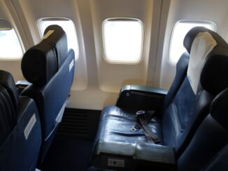 Tarom Business Class on the Boeing 737