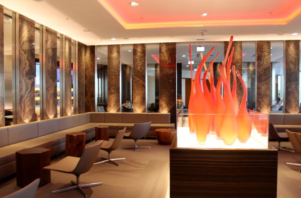 Air Canada Maple Leaf Lounge, Frankfurt seating area