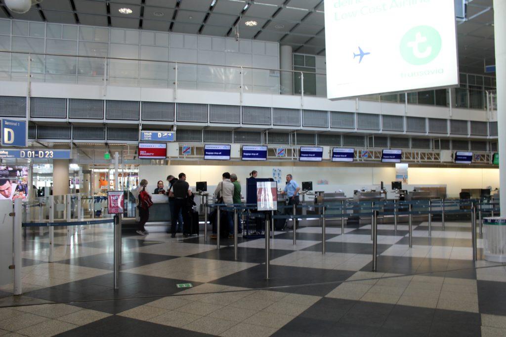 Air France Business Class Munich-Paris CDG check-in