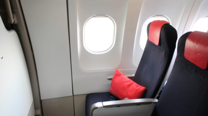 Air France Business Class Munich-Paris CDG seat