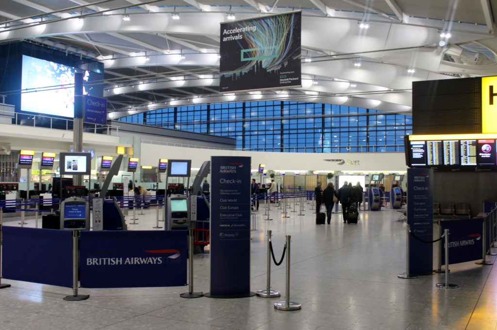 British Airways Business Class London-Munich priority check-in