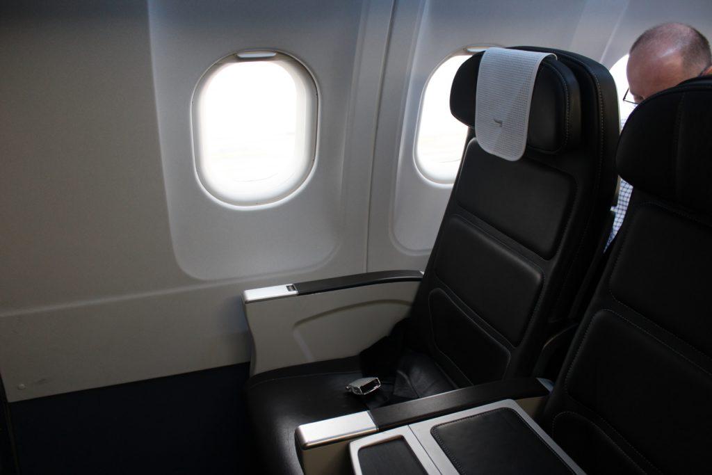 British Airways Business Class London-Munich seat