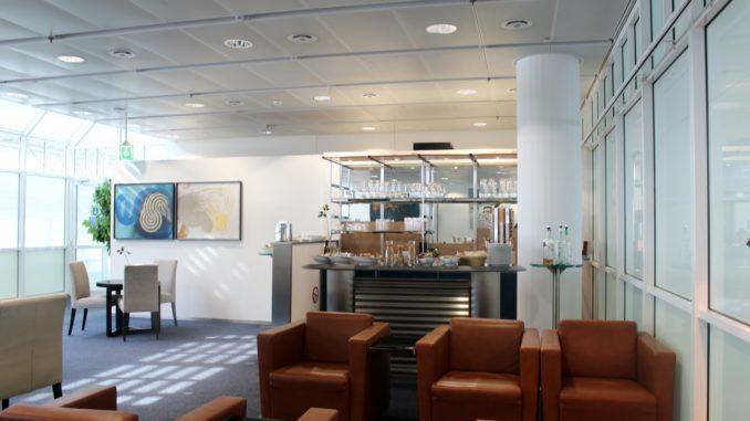Europa Lounge, Munich, Terminal 1 interior