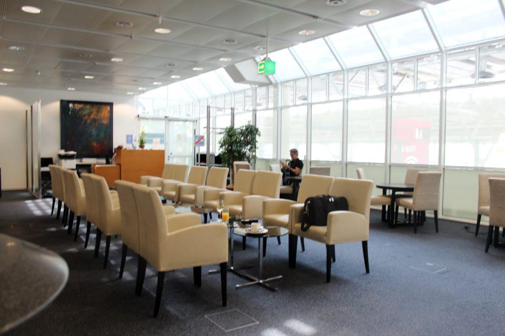 Europa Lounge, Munich, Terminal 1 seating areas