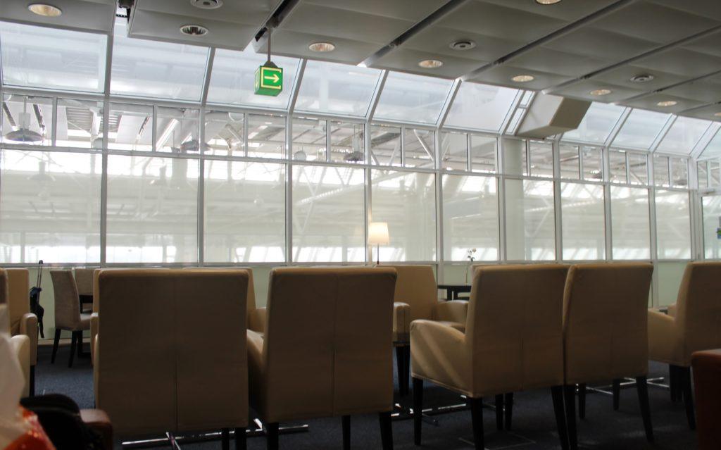 Europa Lounge, Munich, Terminal 1 seating