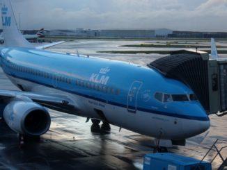 KLM Business Class Amsterdam-Paris Boeing 737