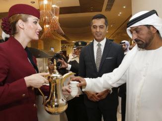 Qatar Airways Premium Lounge Dubai