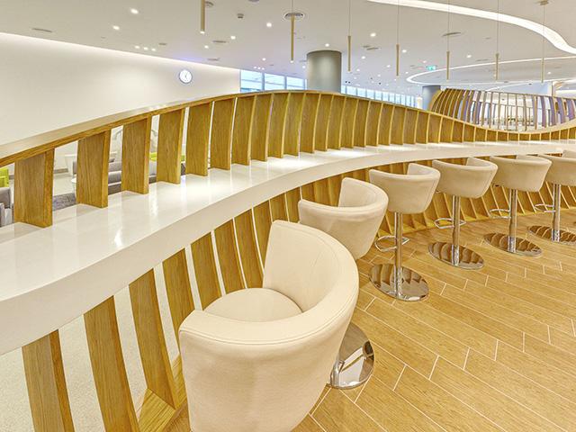 Skyteam Lounge, Dubai seating