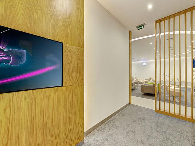 Skyteam Lounge, Dubai TV room