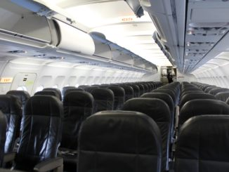 Swiss Economy Class Stockholm Arlanda-Geneva cabin