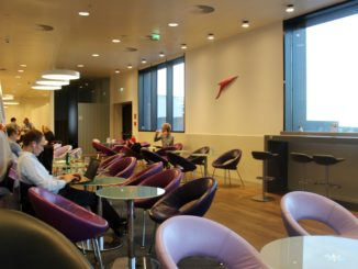 Austrian Airlines Senator Lounge, Vienna Schwechat, Schengen seating areas
