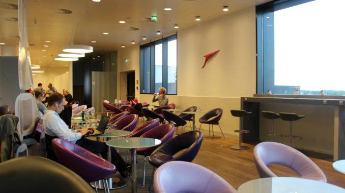 Austrian Airlines Senator Lounge, Vienna Schwechat, Schengen seating areas