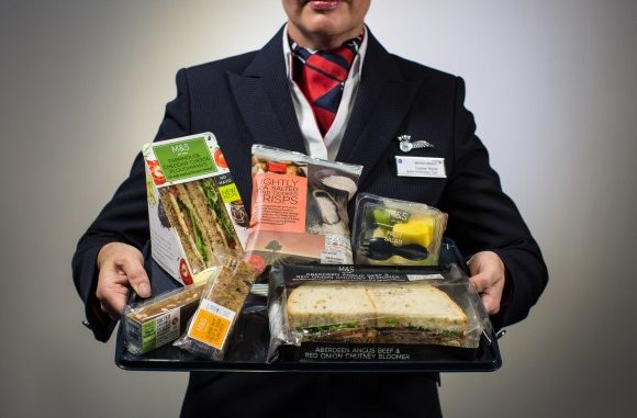 British Airways Buy Onboard food from Marks & Spencer