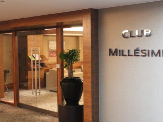Club Millesime, Sofitel London Heathrow entrance