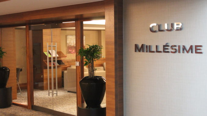 Club Millesime, Sofitel London Heathrow entrance