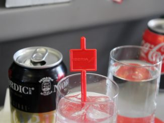 Iberia Business Class Stockholm-Madrid Gin Tonic