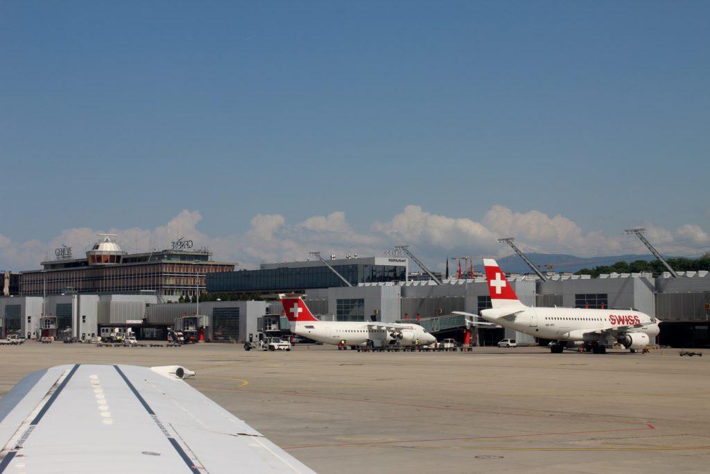 Lufthansa Economy Class Geneva-Frankfurt terminal