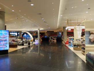 New arrivals taxfree shop at Oslo Gardermoen
